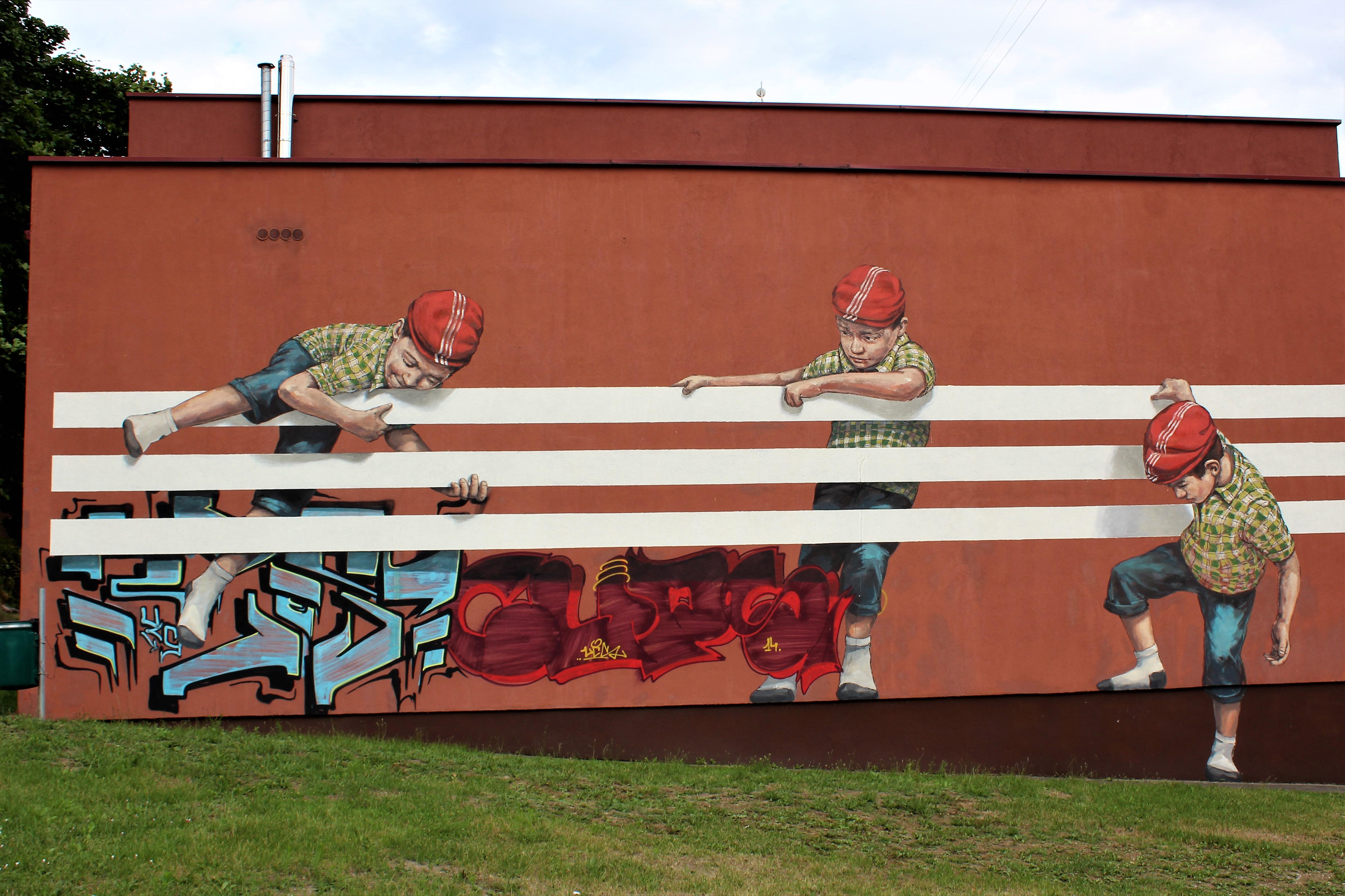 Street art Kowno