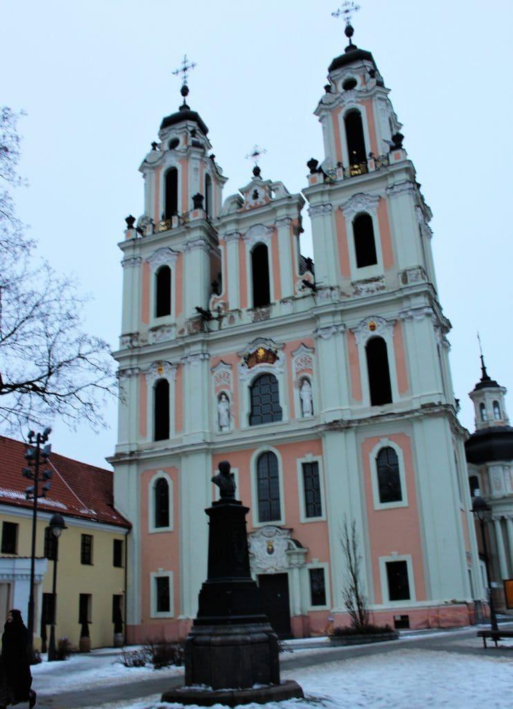 Wilno Kościół św. Katarzyny