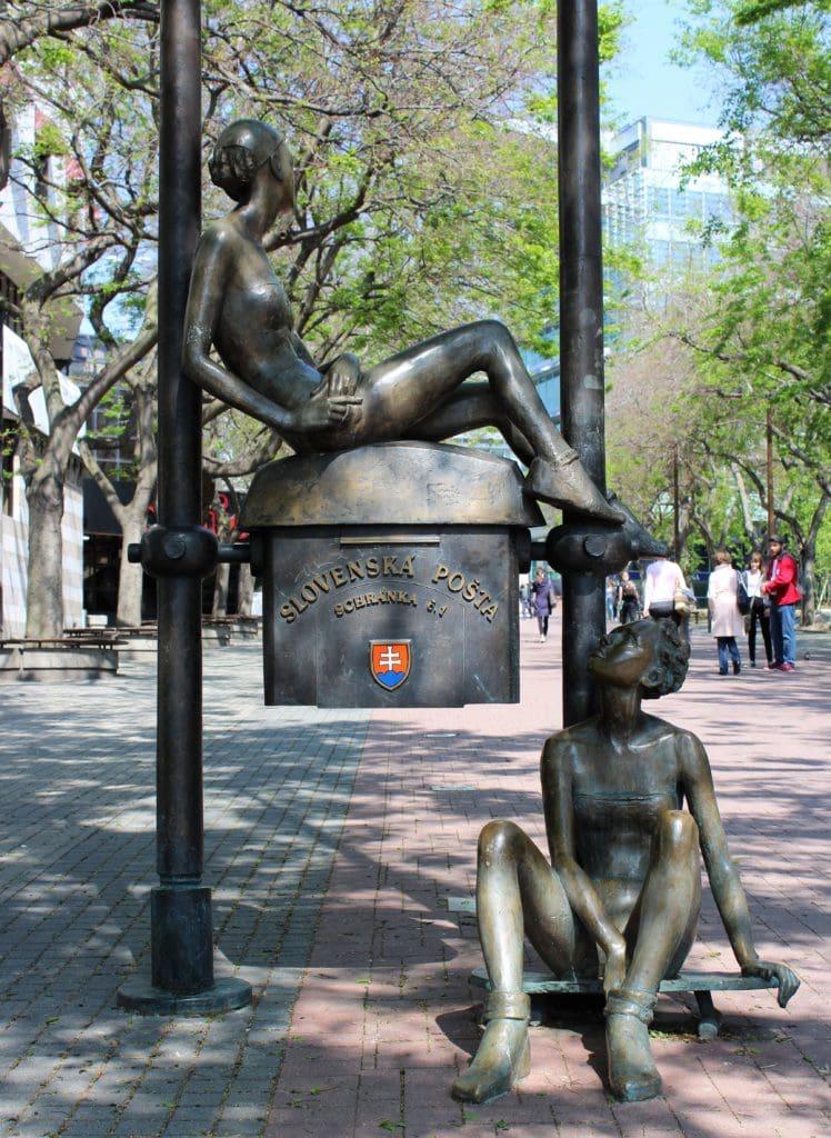 Bratysława rzeźby