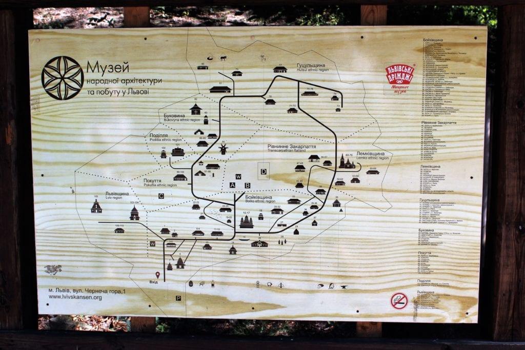 Gaj Szewczenki mapa