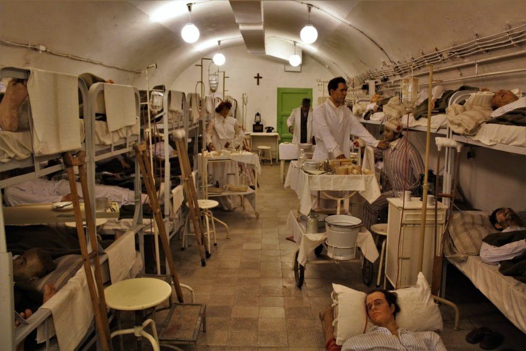 Szpital w skale Budapeszt