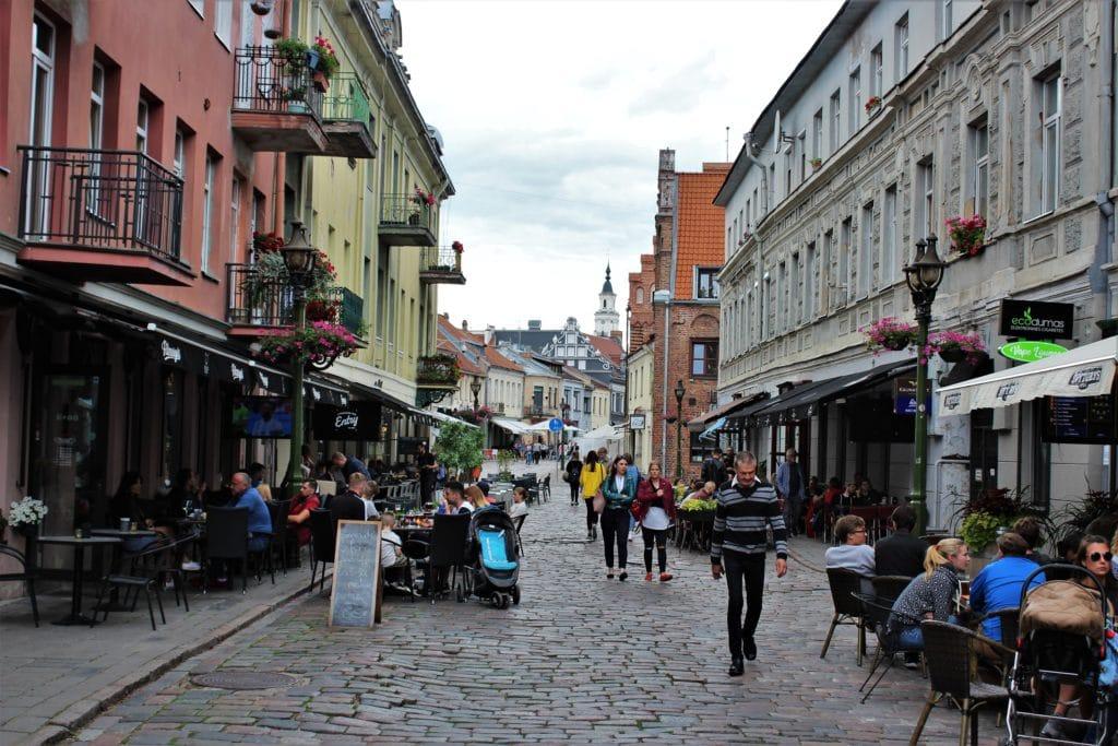 kowno stare miasto
