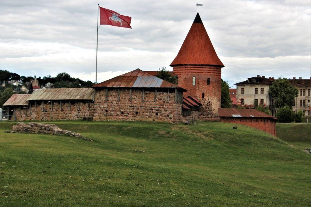 kowno atrakcje zamek