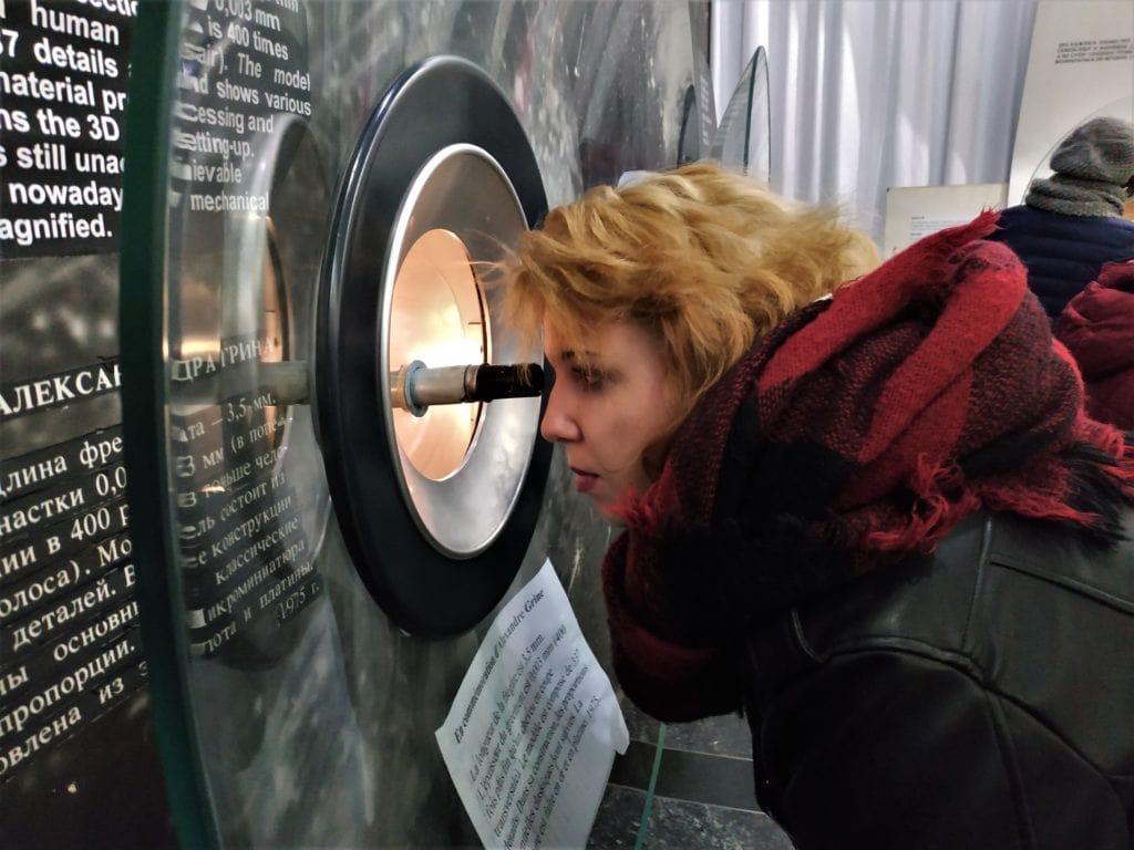 Kijów zwiedzanie muzeum mikrominiatur