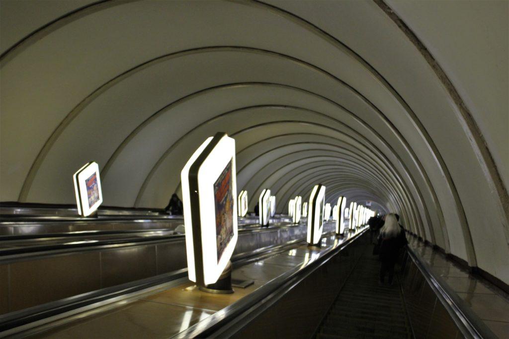 Kijów zwiedzanie metro