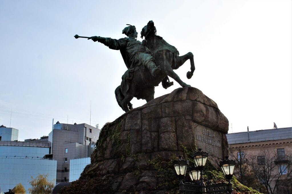 Kijów zwiedzanie plac sofijski