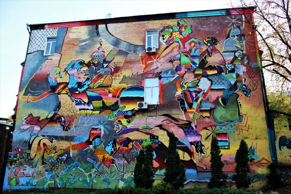 Kijów streetart