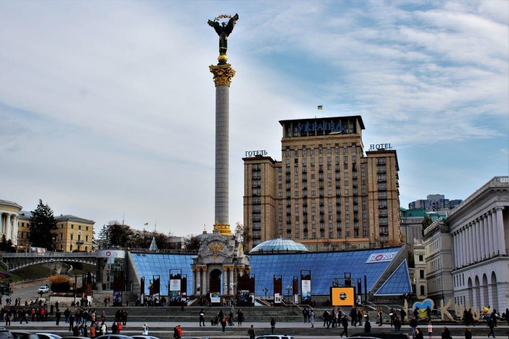 Kijów zwiedzanie majdan