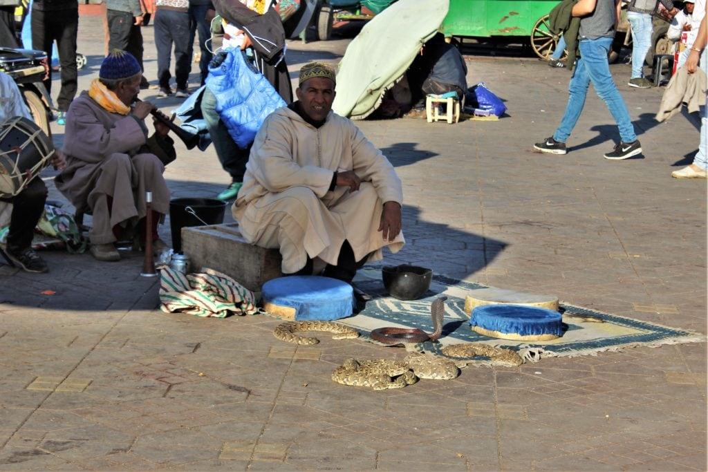 Marrakesz atrakcje dżama al fna