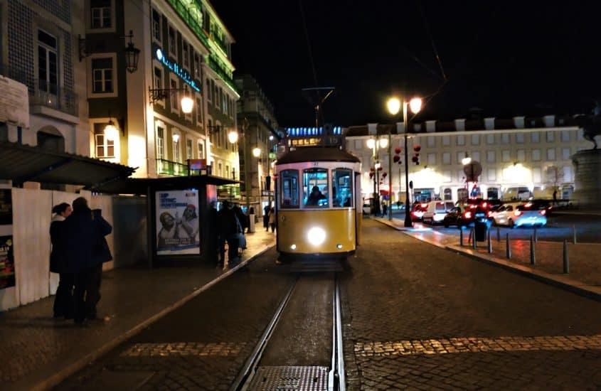 Lizbona nocą