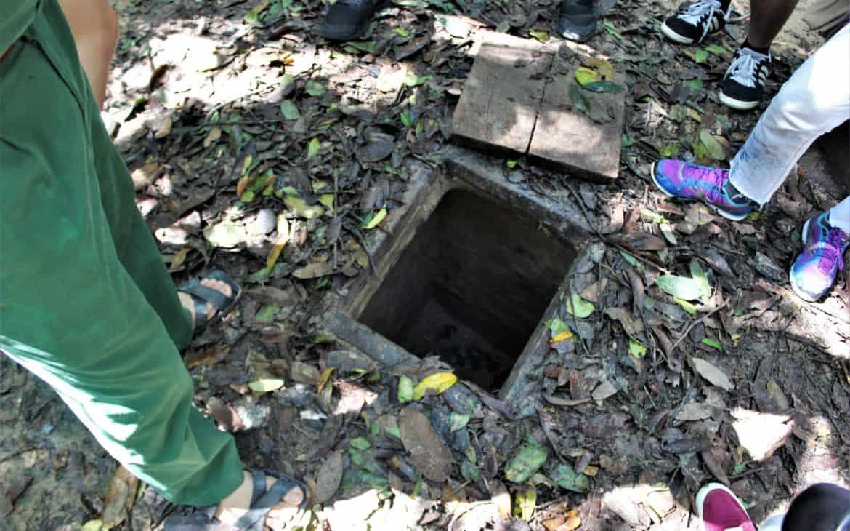 Oryginalne wejście do tuneli