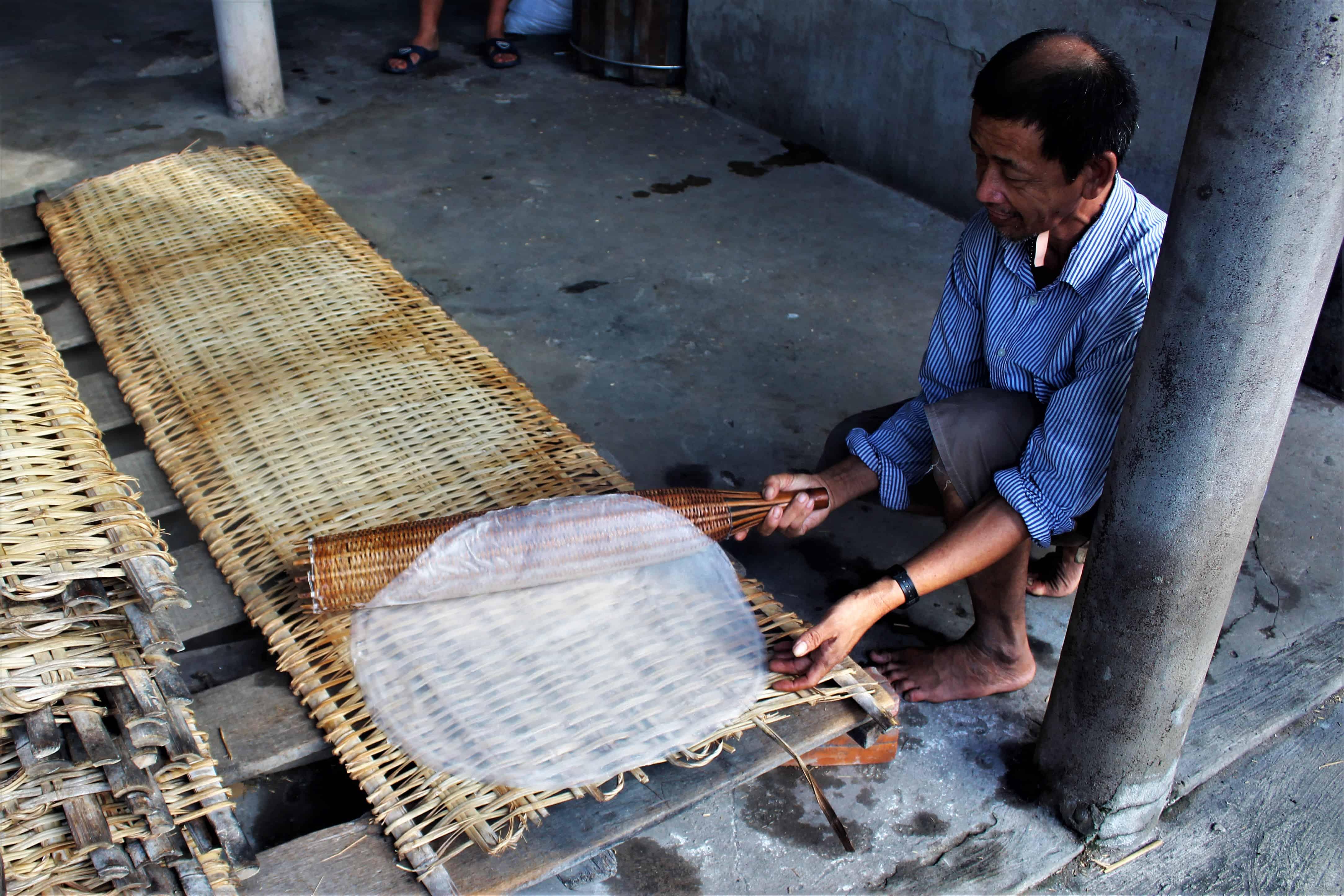 fabryka makaronu Wietnam spływ Mekongiem
