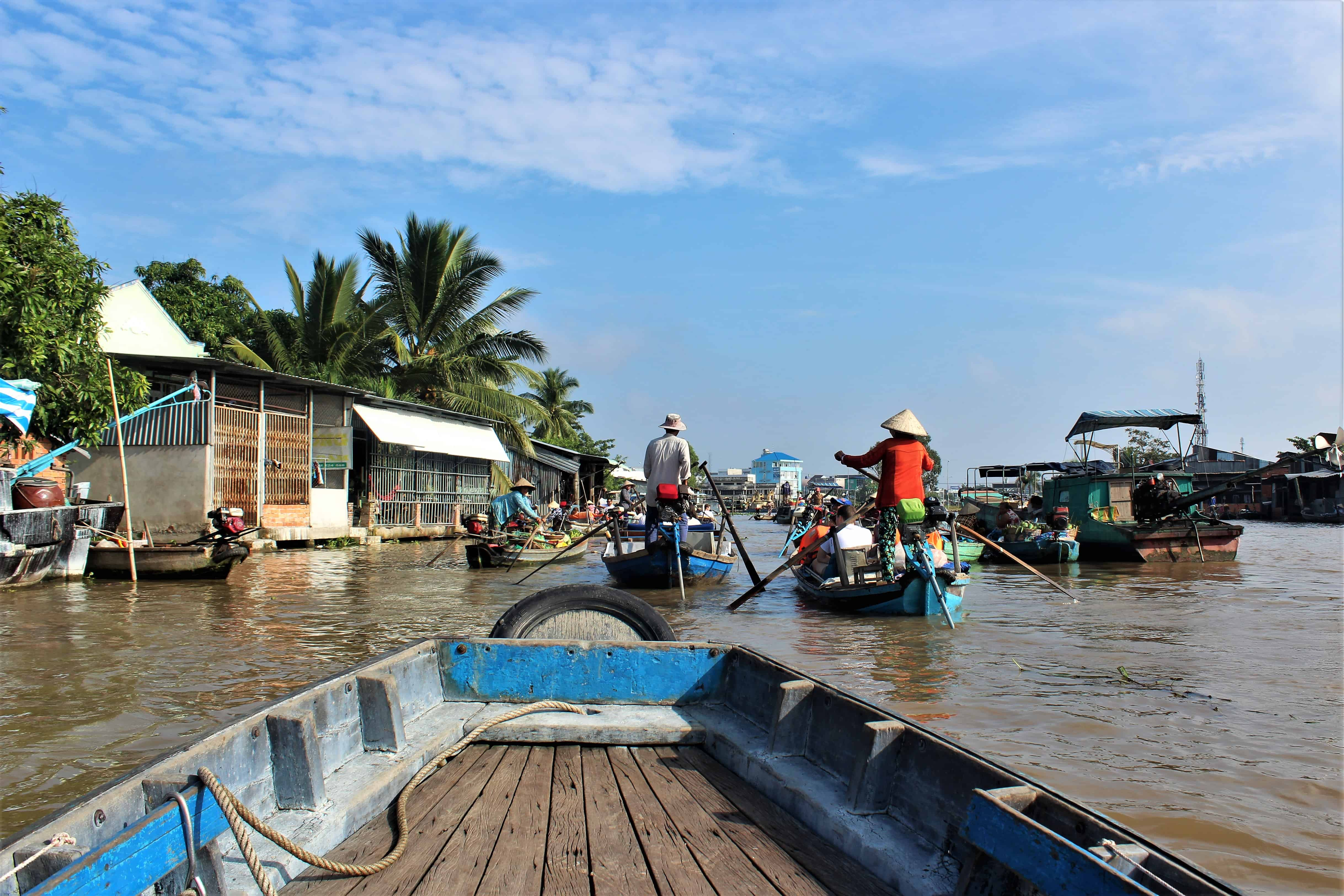 Wietnam spływ Mekongiem