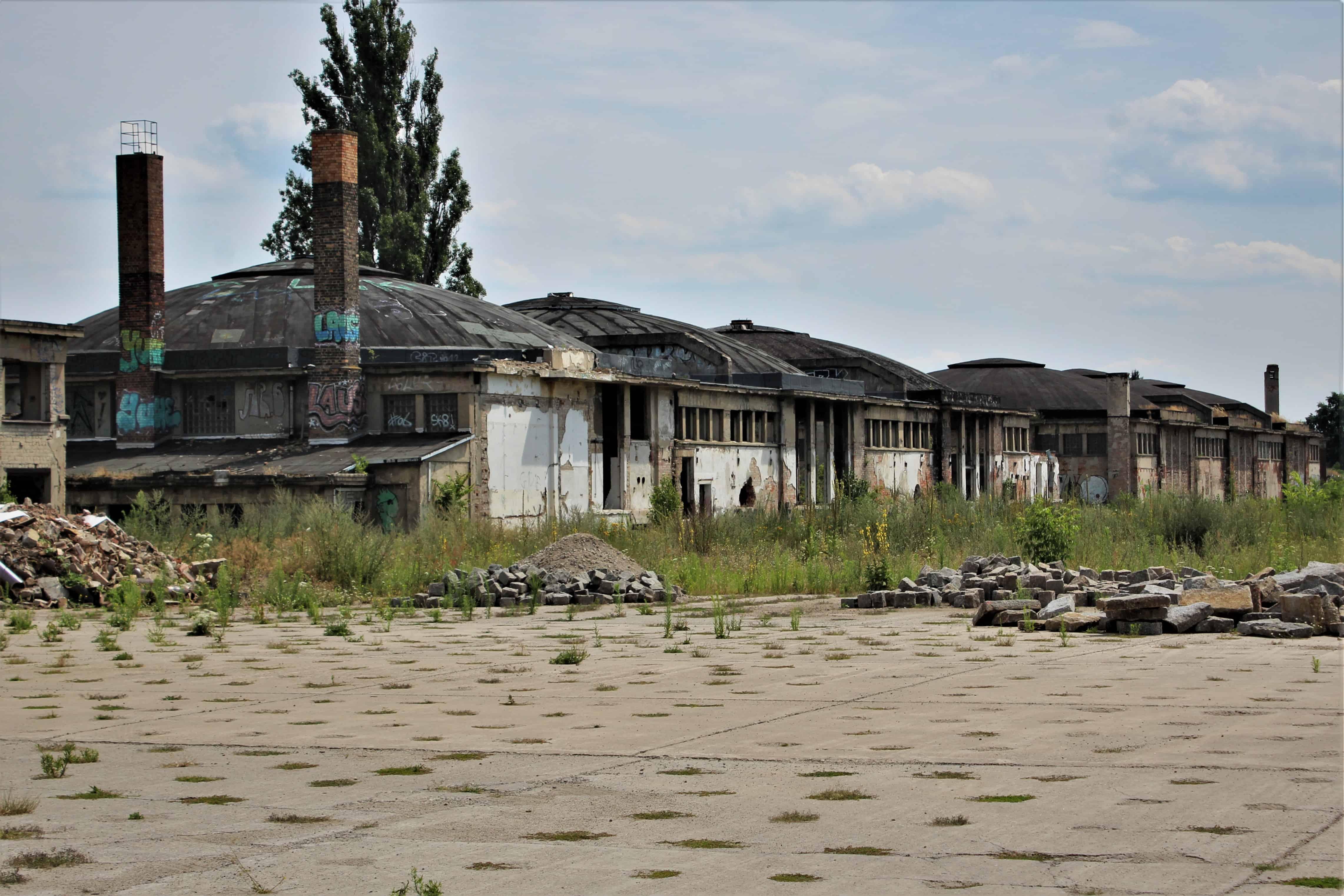 opuszczone miejsca w Berlinie