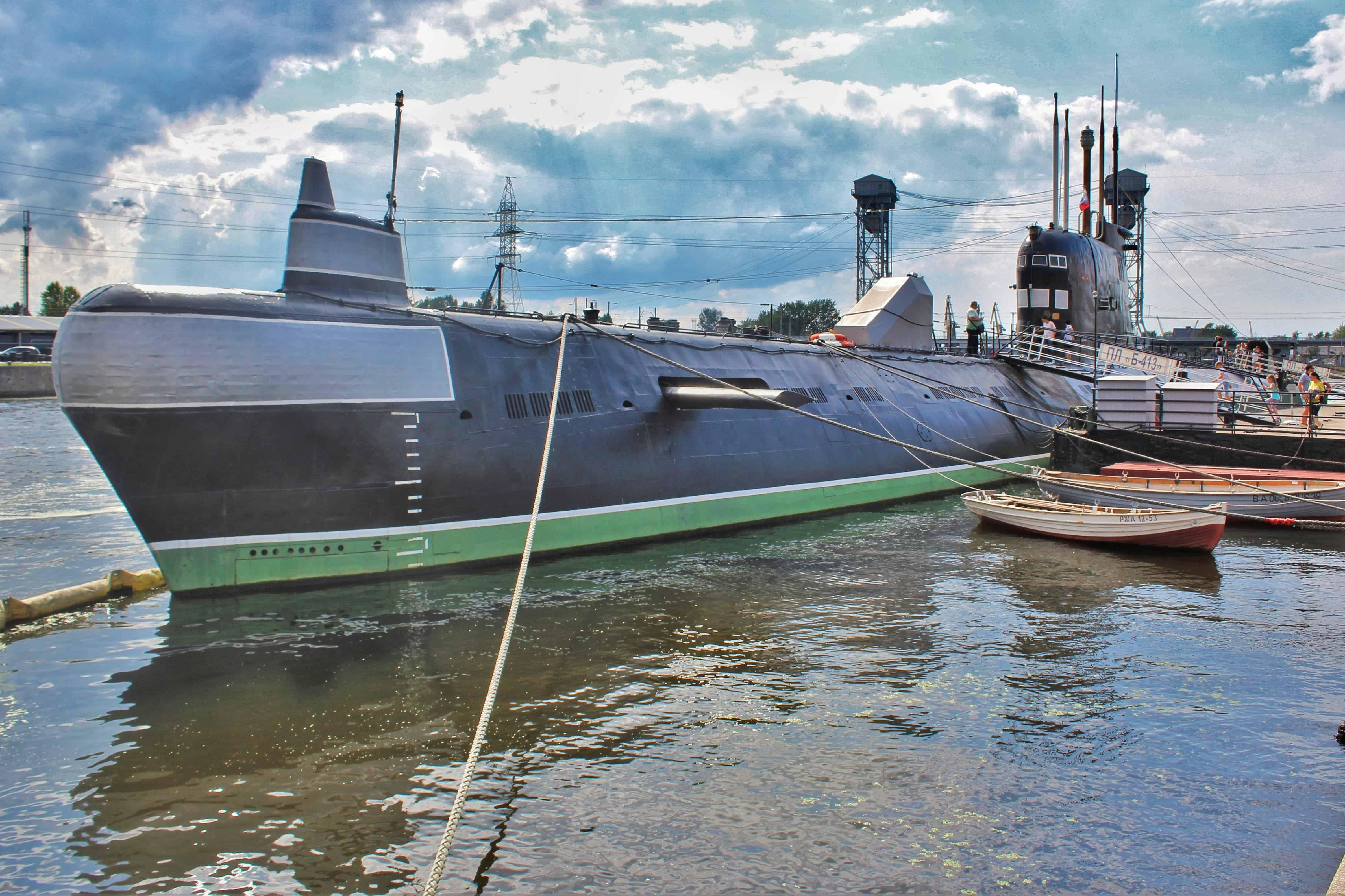 okręt podwodny B-413