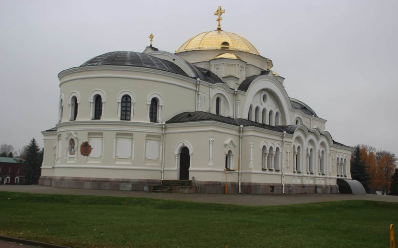 Cerkiew na wyspie