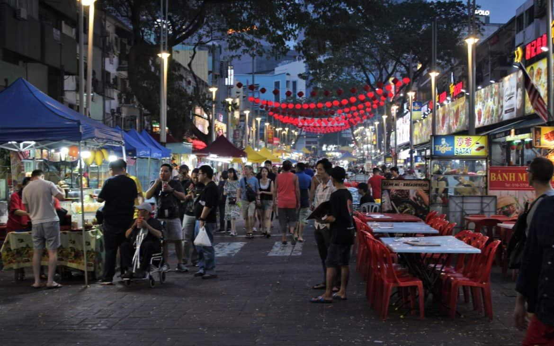 street food w Indonezji