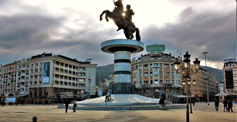 Skopje Aleksander Macedoński