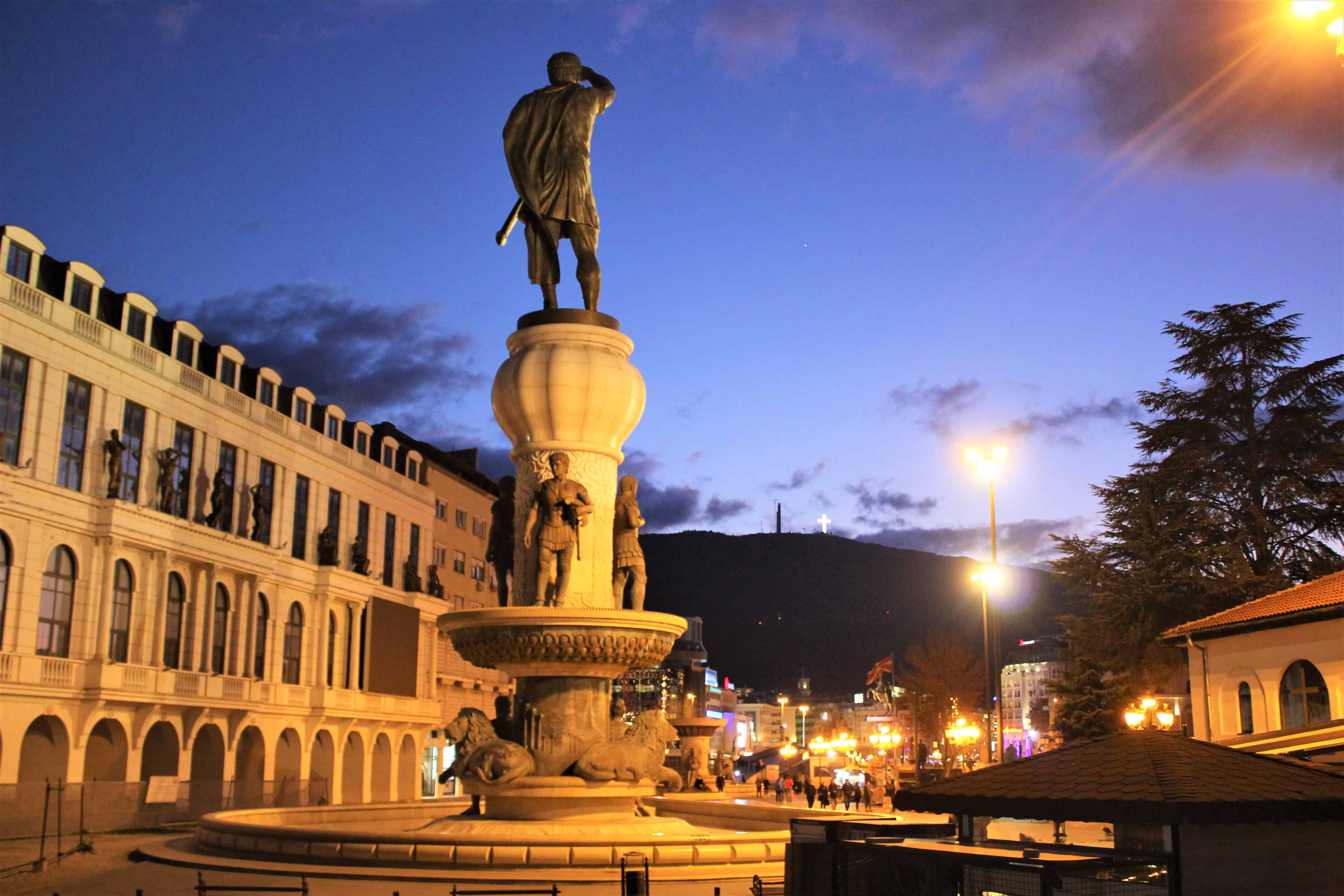 Skopje co zwiedzić