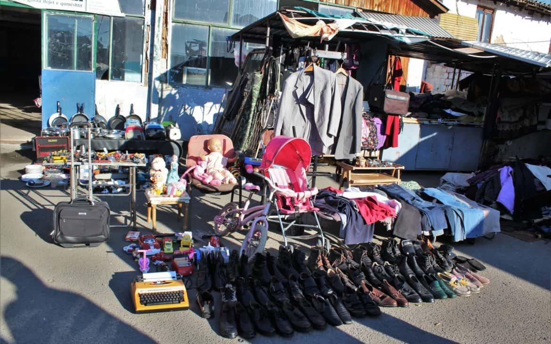 bazar w prisztinie