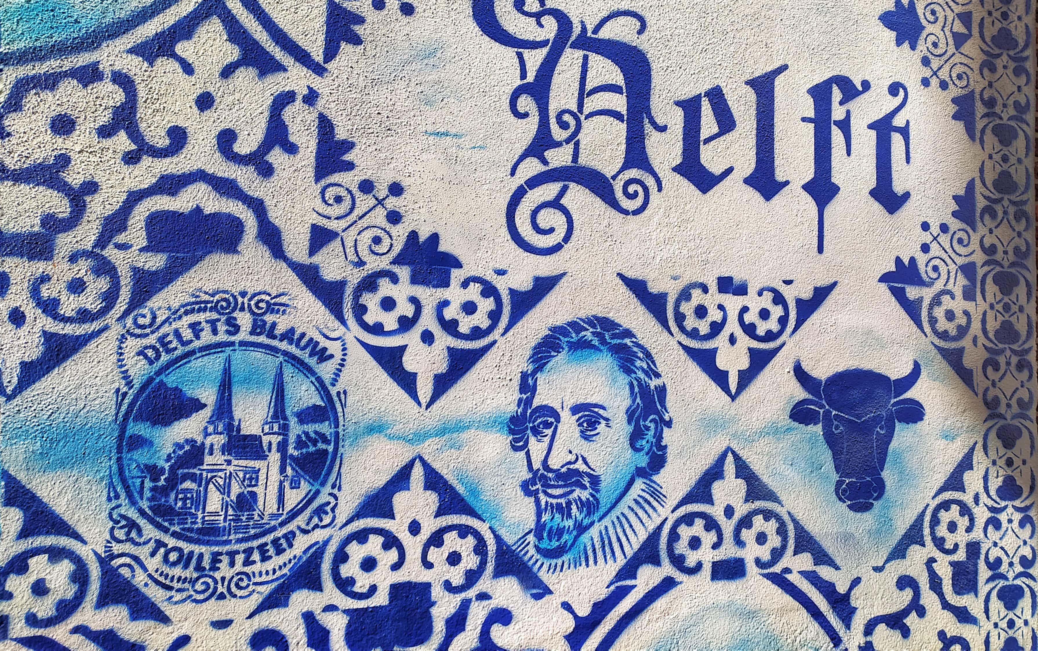 delft streetart